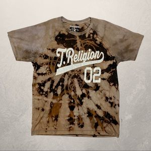 True Religion Brown Dyed Tee